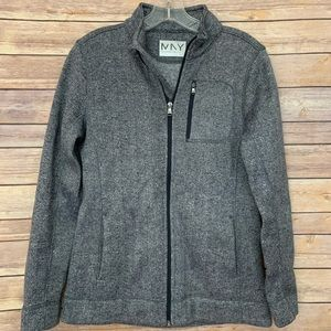 Marc New York Heather gray zip up jacket Size XS